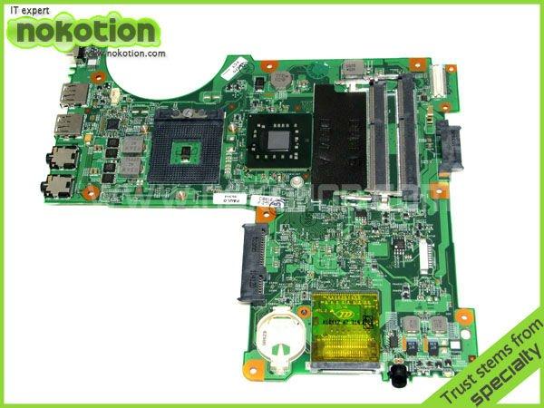 LAPTOP MOTHERBOARD FOR DELL N4020 Notebook PC System board mainboard 48.4EK06.011 086G4M INTEL GM45 DDR3  цены онлайн