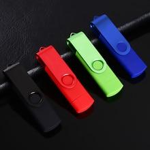 The Smart Phone OTG USB Pen Drive Cell Phone Mobile Phone USB Flash Drive Pendrive 4GB