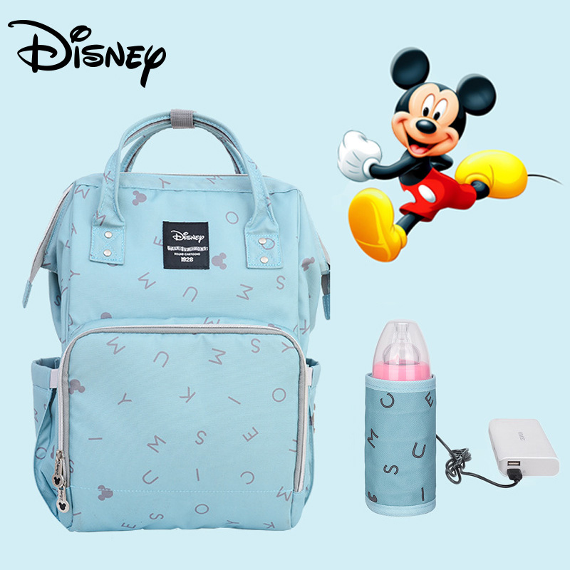 DISNEY Fashion Mummy Maternity Nappy Bag Large Capacity Baby Bags For Mon Travel Backpack Nursing Bag Or Baby Care Diaper