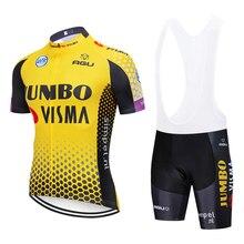 2019 JOMNO велосипедная майка 20D велосипед шорты костюм Ropa Ciclismo мужские летние быстросохнущие PRO велосипед Майо брюки одежда