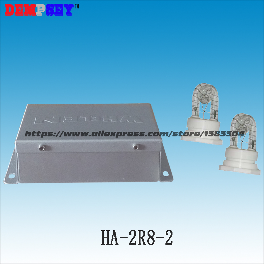 HA-2R8-2 Super Warning bright,Car Strobe Hide a way fog lights, strobe warning light 2pcs xenon strobe light