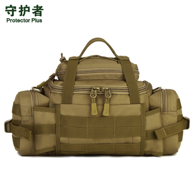 Prorector Plus Multi-functional Men Women Military Waist Bag Men Fashion Handbag SLR Cameras Mountaineering Messenger Bag B215
