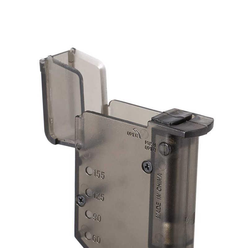 Страйкбол пластиковое скоростное заряжающее устройство BB 155 патронов военные тактические военные BB Погрузчик Пейнтбол Открытый охотничий аксессуар