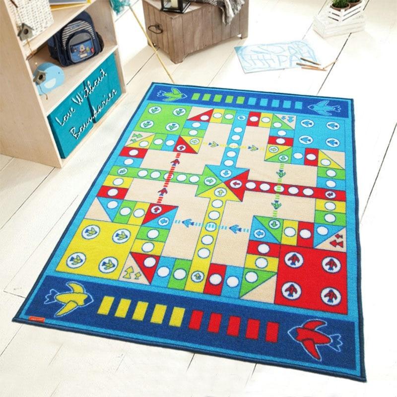 Tapis d'échecs de vol de jouets de bande dessinée, haute qualité SGS authentification tapis de protection de l'environnement de haute qualité pour enfants