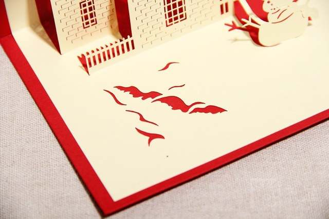 3D Greeting Card ]