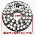48 Placa de LEDs 5mm Lâmpada de Infravermelhos IR Para Camera IR Para Camera IR de 60 Graus Bulb