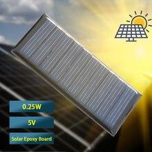 цена на Mini 0.25W 5V Solar Panel Power Panel System DIY Battery Cell Charger Module Portable Panneau Solaire Energy Board 30*60MM