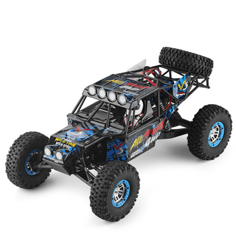 2018 large RC Vehicle 10428-2 1/10 4x4 drive 40km/h High Speed Stunt RC SUV Rock Crawler Electric Off Road Buggy Racing RC truck все цены