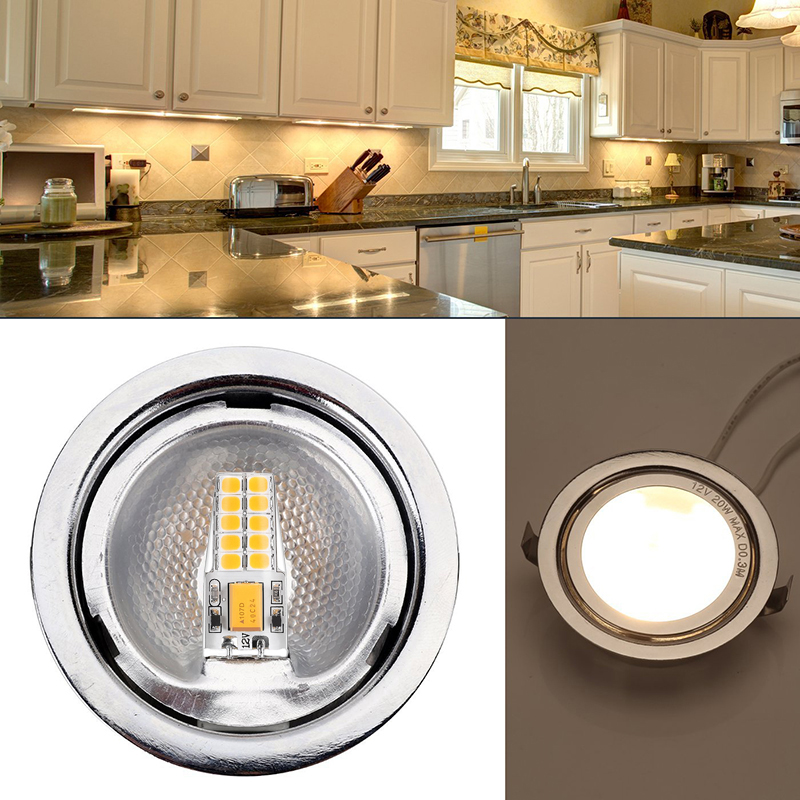 Купить с кэшбэком 6pcs G4 LED Lamp 12V AC DC 3W Waterproof Lampadas LED G4 Bi-Pin base Bulb 2835 SMD 20LED Light Bulbs Equivalent 30W Halogen