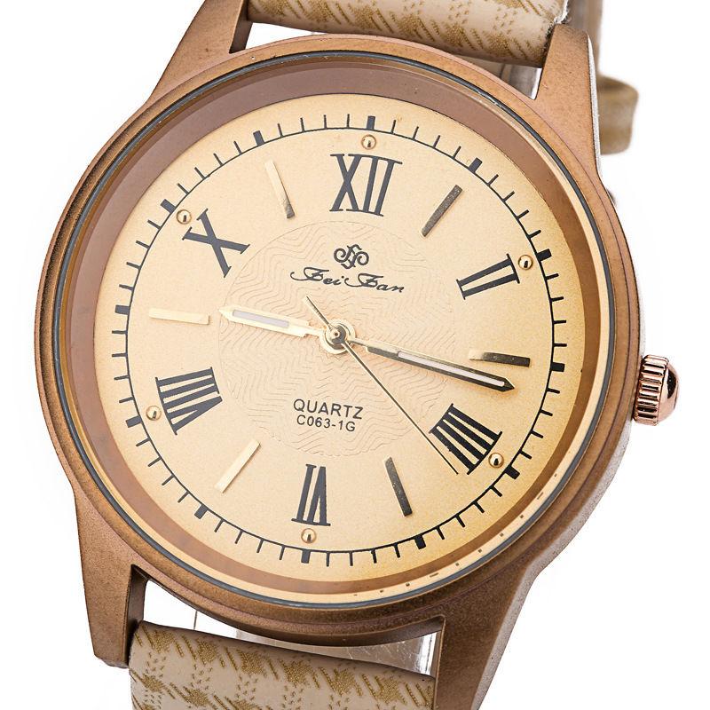 Hot Feifan Brand 5 Colors New Quartz Watches Men Rome Dial Men Women Watch