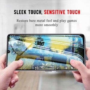 Image 5 - 2 Pcs/lot Full Glue Samsun A50 Glass For Samsung Galaxy A70 A40 A30 A50 Protective Glass On The Galax A 50 30 40 70 50A 70A Film