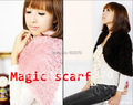 Fashion Creative Scarf  Multi-function magic Scarf Funny Maigc Scarf  Wholesale and retail