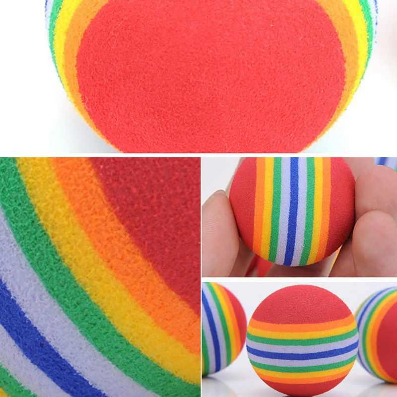 2019 Новая мода смешная игрушка для питомца 3,5 см красочные игровые мячи Детская собака кошка горячая Распродажа игрушки для домашних животных