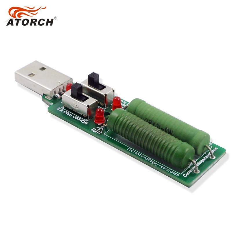 ATORCH USB rezistoriaus nuolatinė nuolatinės srovės apkrova Su - Matavimo prietaisai - Nuotrauka 3