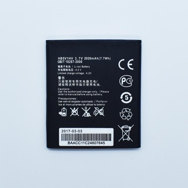Hekiy 2018 New HB5V1/HB5V1HV Battery For Huawei Ascend W1 Y300 Y300C Y541 Y500 Y511 T8833 U8833 W1-C00 Mobile Phone Batterie