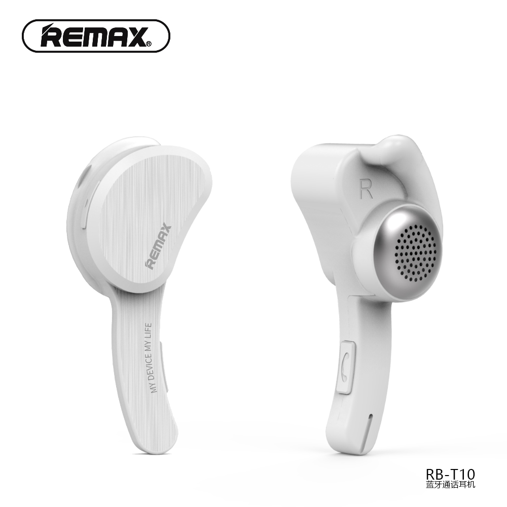 REMAX Locking Ear 4.1+EDR Bluetooth Earphone Wireless HD with Hifi Microphone Light Portable Design Noise Cancel for Phone
