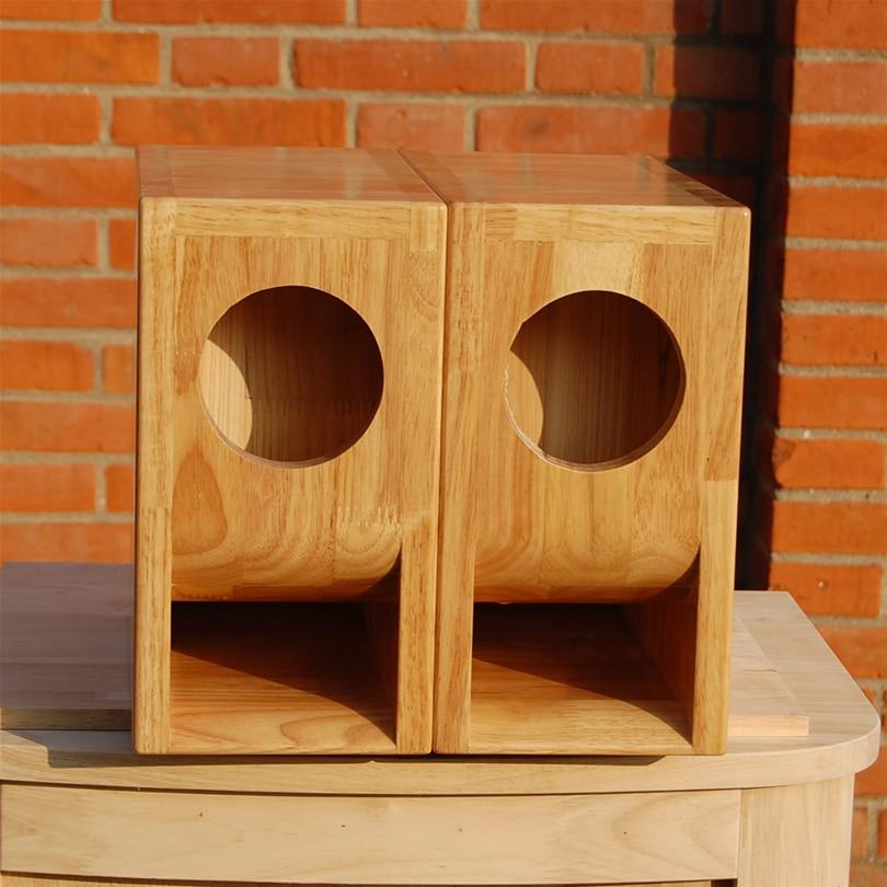 3 4 Inch Full Range Speaker Maze Folding Solid Wood Box