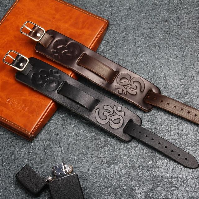 Купить janeyacy новый модный коричневый черный кожаный браслет повседневный картинки