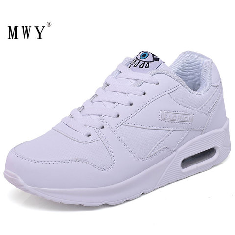 MWY Fashion Plus Size Air Cushion Shoes Ladies Platform Shoes Sneakers Women zapatillas mujer deportiva Casual Shoes Women Lahore