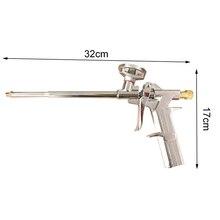 Пенопластовый расширяющийся пистолет-распылитель, Дозирующий полиуретановый изоляционный аппликатор, инструмент, пистолет для пены, корпус, шприц, стеклянный клеевой пистолет