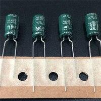 10 pces 100 uf 25 v suncon (sanyo) wl série 6.3x11mm baixa impedância longa vida 25v100uf alumínio capacitor eletrolítico electrolytic capacitors aluminum electrolytic capacitor 100uf 25v -