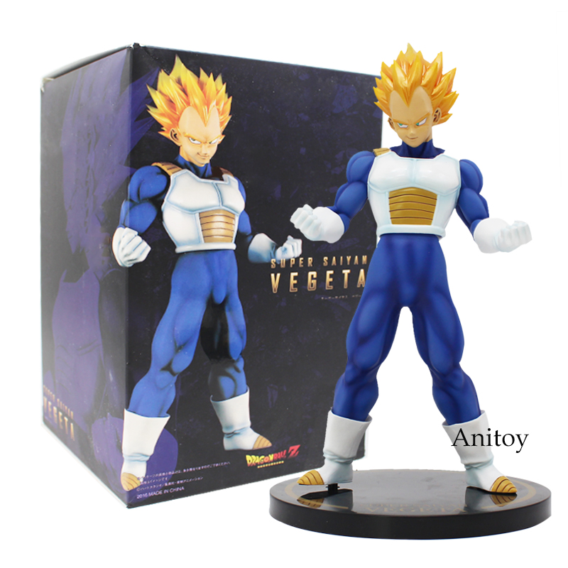 Dragon Ball Z Super Saiyan Vegeta PVC Figure Collectible Model Toy 23cm shfiguarts dragon ball z vegeta pvc action figure collectible model toy 6 5 16cm