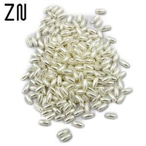 ZN 500pcs/bag 3mmx6mm Imitatio