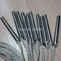 10pcs Cartridge Heater 10mmx 50mm 75W 120V Ac Cartridge Heater Swaged In Leads