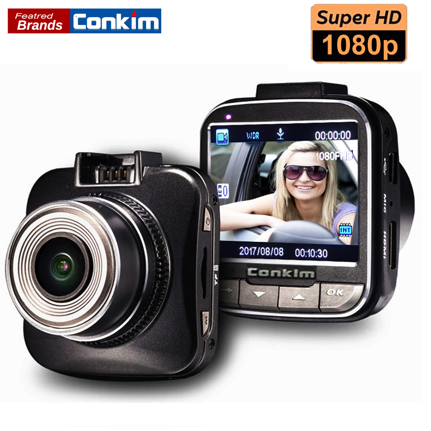 Conkim 170 Degree Wide Angle Auto Video Recorder 1080P Full HD Car Camera DVR 2.0