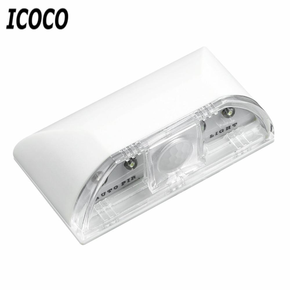 Auto PIR Wireless Home Door Keyhole Light Lamp Motion Sensor Detector LED Light 4 Leds Led Sensor Motion Lamp Night Light