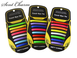SENTCHARM 16 pçs/set Adulto Preguiçoso Elástico Não Amarrar Cadarços Livre Cadarços de sapatos de Amarrar Cadarço Silicone Fácil Atacado