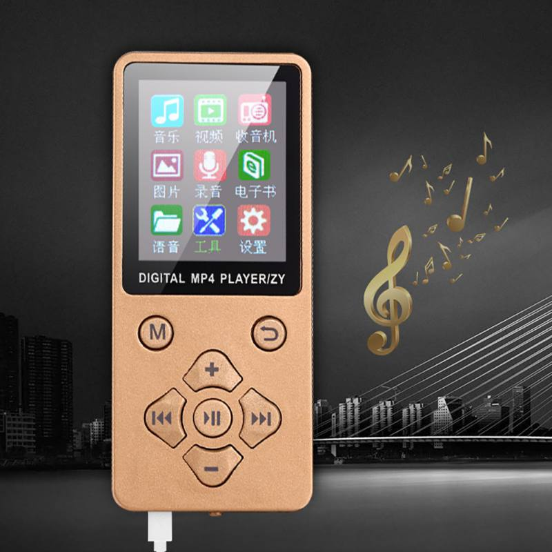 1.8-inch TFT Display MP3 Player Anti Slip Button Control Battery Operated With HiFi Sound Quality Music Players For MP3 Walkman