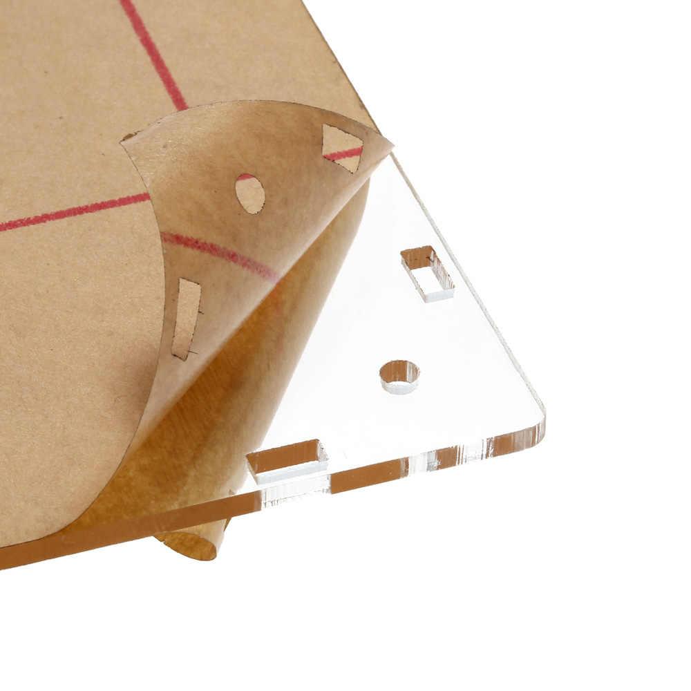الاكريليك DIY حالة غطاء قذيفة ل DSO138 راسم osciloscopio التبعي