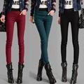 New Fashion Women 2017 Calcas Femininas Long Casual Stretch Plus Size Stitch XXL Stitch Pencil Pants Cotton Leggings Trousers