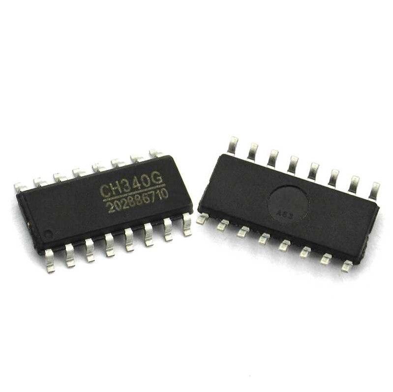 1pcs Original CH340G IC R3 USB To Serial Port Chip SOP-16 CH340