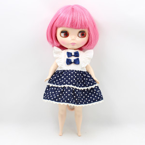 Image 2 - The Body of Fortune Days doll plump Body blyth suitable for change the body for the plump Lady PINK SHORT HAIR 2476