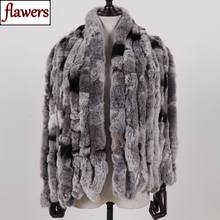2020 Winter Women Long Style 100% Genuine Real Rex Rabbit Fur Scarf Lady Warm Quality Natural Soft Rex Rabbit Fur Scarves Shawl