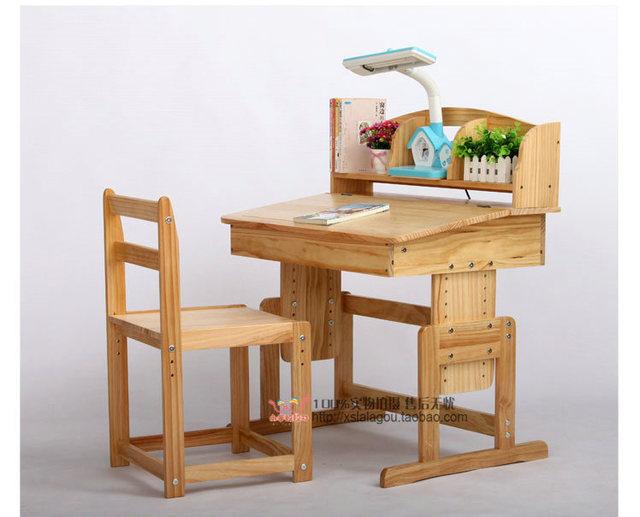 Scrivanie e sedie per i bambini di imparare tavoli di studio
