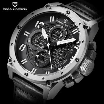 Waterproof Chronograph Quartz Watch High Quality