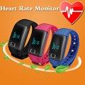 Bluetooth Smart Watch Часы Наручные Подключен Спорта Шагомер Heart Rate Monitor Smartwatch для iphone И Android-коммуникатор