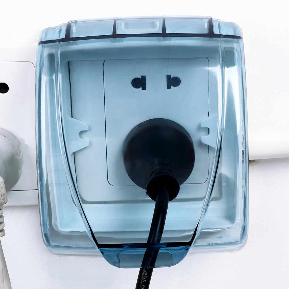 Boite Cache Prise Electrique interrupteur mural en plastique étanche couvercle boîte 86