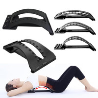Back Massage Magic Stretcher Fitness Equipment Stretch Relax Stretcher Lumbar Support Spine Pain Relief Chiropractic Health