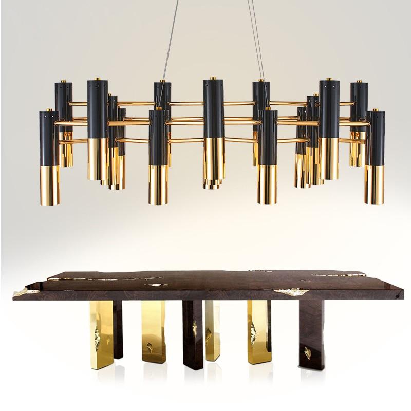 chandelier lighting modern Nordic retro industrial style chandeliers for dining room lighting for restaurant villa living room