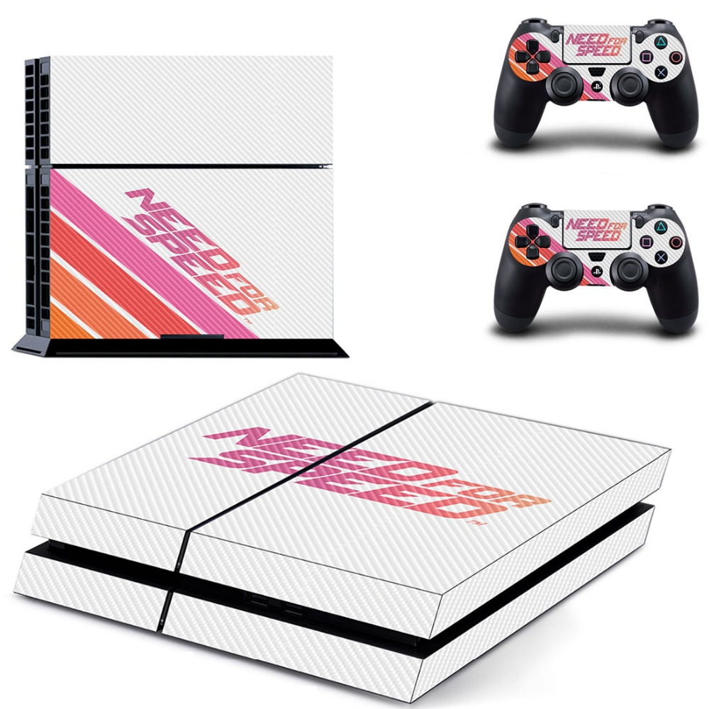 Game Need for Speed PS4 Skin Sticker Decal Vinyl for Sony Playstation 4 Console and 2 Controllers PS4 Skin Sticker image