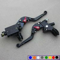 CNC 7 8 Universal Motorcycle Brake Master Cylinder Fluid Reservoir Ebike Brake Clutch Levers Automatic Power