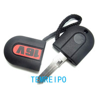 Transponder Key Shell With Light For VW Key 16V With White Light And HU49 Blade G60