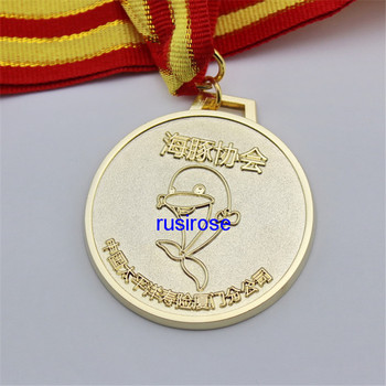 Dolphin metal medals custom, personalized dolphin theme sports medal, DIY dolphin protection association medal image