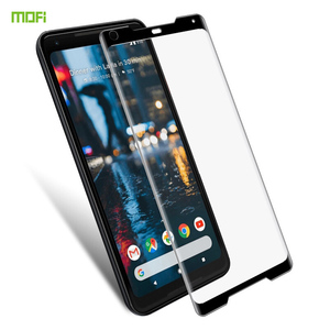 MOFi For Google Pixel 2 XL Tempered Glass 3D Full Cover Screen Protector For Google Pixel 2XL Protective Film|Phone Screen Protectors|Cellphones & Telecommunications -