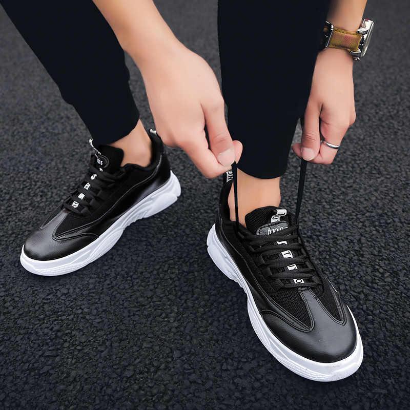 FONIRRA גברים סניקרס אופנה אור רשת מזדמן ספורט נעלי לטוס לארוג נעליים לנשימה קיץ הליכה נעלי Mens מאמני 564