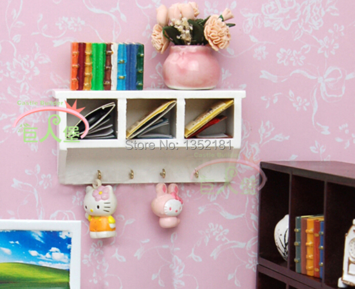kitchen miniature ikea cabinet doors 1 12 cute dollhouse mini multi function cupboard wall with hook in toys from hobbies on aliexpress com alibaba